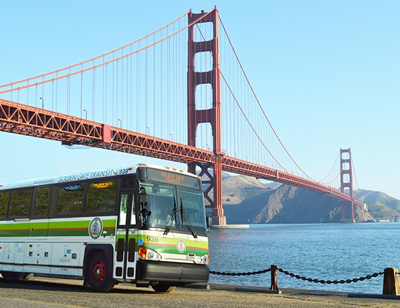 Golden Gate Transit Fleet