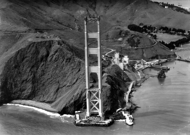 Golden Gate Bridge Historic Photos
