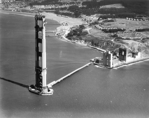 Historic Photos Golden Gate Bridge Photo Gallery Photo
