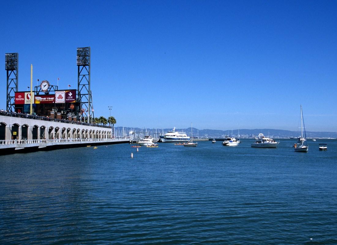 Oracle Park Service Ferry Golden Gate