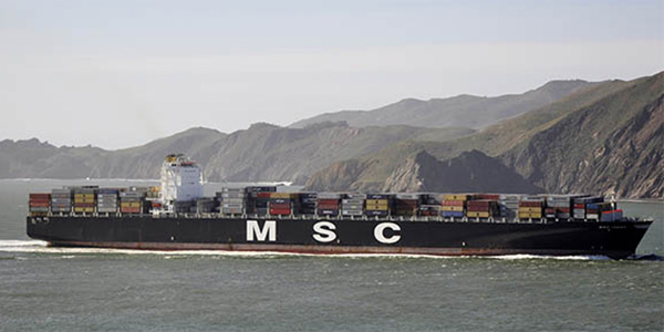 Ships of the Golden Gate - Container Ship